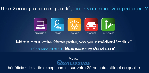 offre 2eme paire qualissime by varilux bayonne