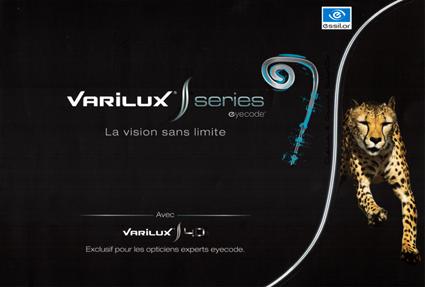 VARILUX S Series Eyecode (S design-S2-S4D), la vision sans limite 0617bb4f9f92