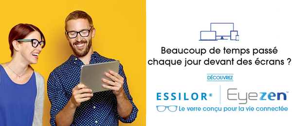 Eyezen Focus Essilor, le verre unifocal sur mesure
