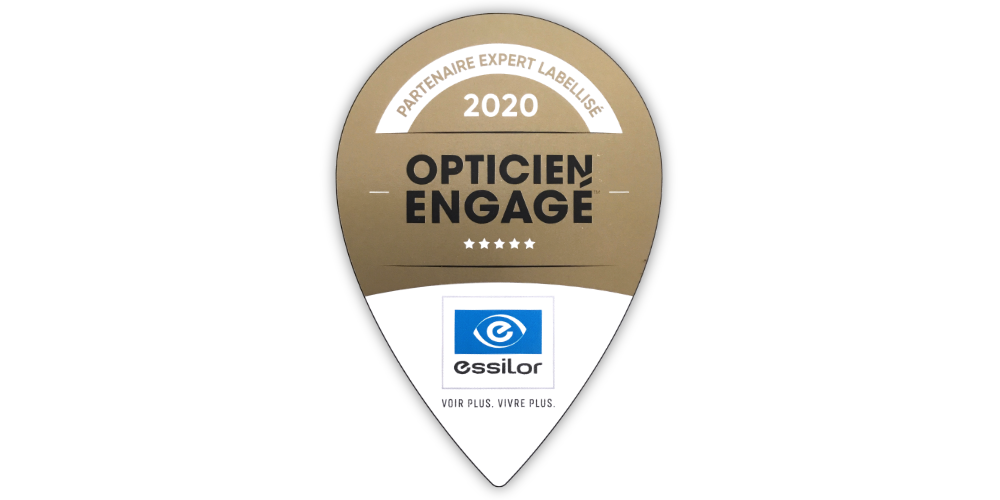 label opticien engagé essilor Bayonne